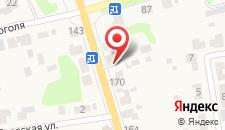 Гостевой дом Литейщика Никуличева на карте