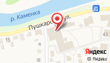 Гостиница Пушкарская слобода на карте