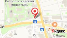 Хостел Молодёжная на карте
