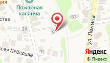 Гостевой дом Онегин на карте