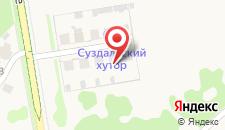 Гостевой дом Всполье на карте