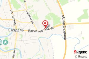 Адрес МРСК центра и приволжья Суздальский РЭС, диспетчерская на карте