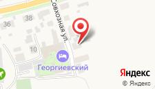 Вилла Васильевский дворик на карте