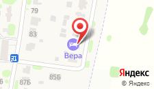Гостевой дом Вера на карте