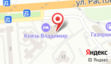 Гостиница Князь Владимир на карте