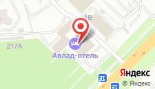 Гостиница Доброе на карте