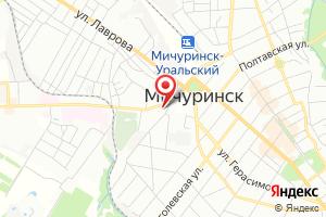 Адрес Газпром межрегионгаз Тамбов, Мичуринский участок на карте