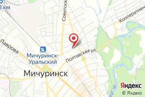 Адрес Газпром газораспределение Тамбов, центр оказания услуг филиала в п. Коммунар на карте