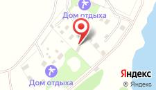 База отдыха Тихий Дон на карте