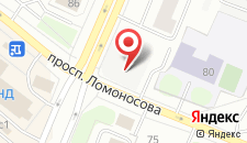 Хостел Ломоносов на карте