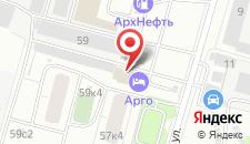 Мини-отель Арго на карте