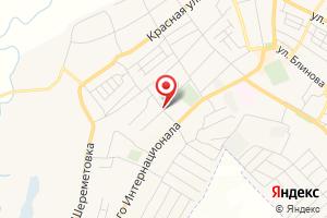 Адрес Газпром газораспределение Воронеж, филиал в г. Бутурлиновке на карте