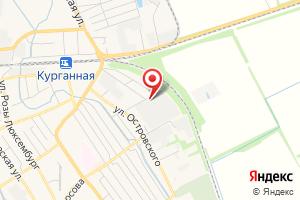 Адрес Газпром межрегионгаз Краснодар, Участок в Курганинском районе на карте