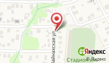 Гостевой дом На Сосналиева 46 на карте