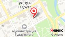 Отель Светлый путь - Апсны на карте