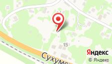 Загородный отель Приморское на карте