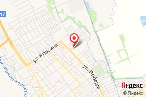 Адрес Лабинскрайгаз на карте