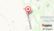 Гостевой дом Guesthouse on Topchan 17 на карте
