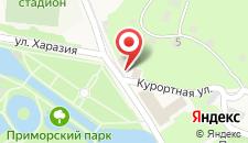 Отель Лебедь на карте