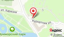 Курортный отель Камарит на карте