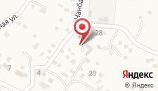 Гостевой дом Амра на карте