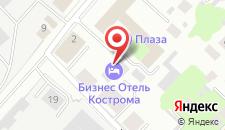 Бизнес-отель Кострома на карте