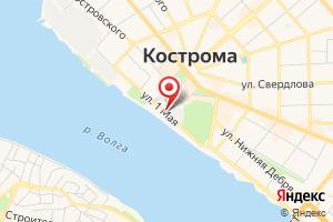 Адрес Костромагорводоканал на карте