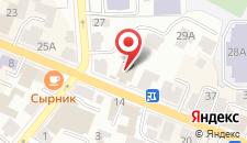 Мини-гостиница МУШ на карте