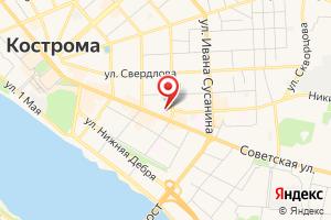 Адрес МУП Костромагорводоканал на карте