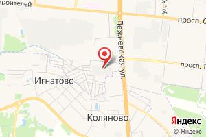 Адрес Электрическая подстанция Ивановская-6 на карте