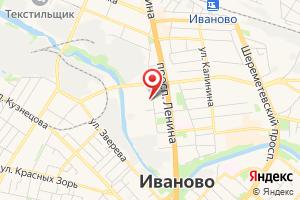 Адрес Газпром Межрегионгаз Иваново на карте