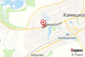 Адрес Газпром газораспределение Владимир, районная эксплуатационная газовая служба в г. Камешково филиала в г. Коврове на карте
