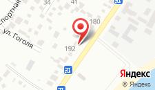 Гостевой дом Элона на карте