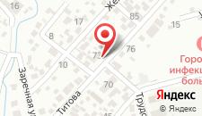 Гостевой дом На Титова, 84 на карте