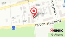 Гостевой дом Ancorr на карте