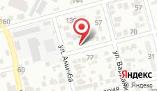 Гостевой дом На Бубновой на карте