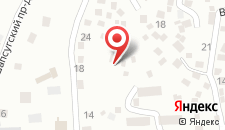 Гостевой дом Солнечное на карте