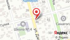 Гостевой дом Центральный на карте