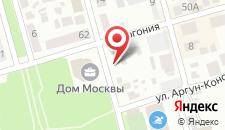 Гостевой дом Домики у Аллы на карте