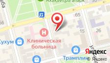 Бутик-Отель Amra на карте