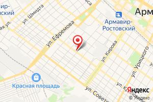 Адрес Газпром межрегионгаз Краснодар на карте