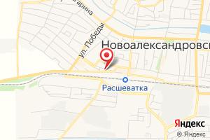Адрес Райводоканал, филиал на карте