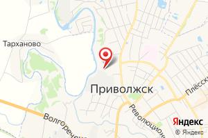 Адрес Филиал Ивэнерго, Приволжский РЭС на карте