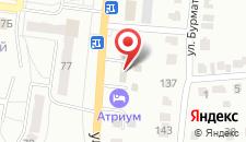 Гостевой дом Атриум на карте