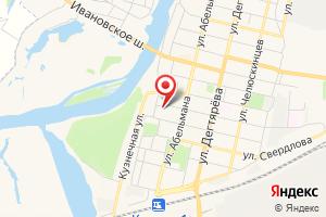 Адрес Газпром газораспределение Владимир, филиал в г. Коврове на карте