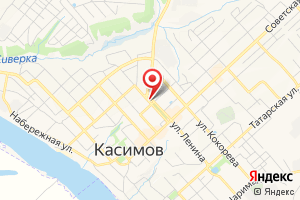 Адрес Газпром межрегионгаз Рязань, Касимовское территориальное отделение на карте