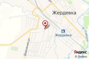 Адрес Газпром газораспределение Тамбов, Жердевский газовый участок филиала в г. Котовске на карте