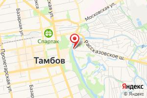 Адрес Цнинская шлюзованная система на карте