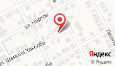Гостевой дом Амза на карте