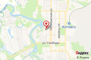 Адрес Газпром межрегионгаз Тамбов, Котовский участок на карте